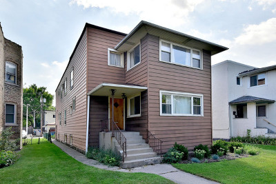 Forest Park Multi Family Home Re-Activated: 614 Elgin Avenue