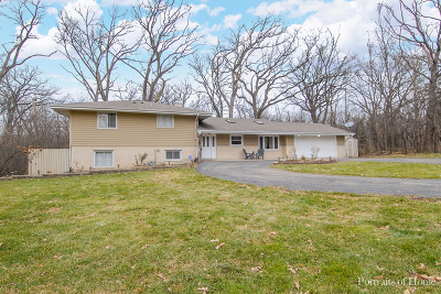 Wheaton Single Family Home For Sale: 1s660 Winfield Road