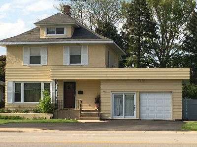 Wheaton Single Family Home For Sale: 507 East Roosevelt Road