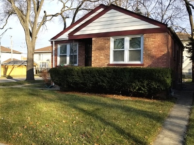 Bellwood Single Family Home For Sale: 1101 Marshall Avenue
