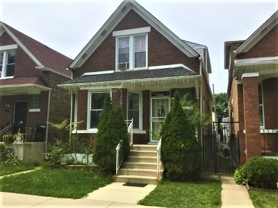 Chicago Single Family Home Re-Activated: 4326 South Campbell Avenue