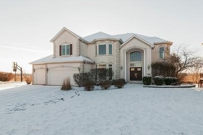 Geneva Single Family Home Price Change: 1609 Fairway Court