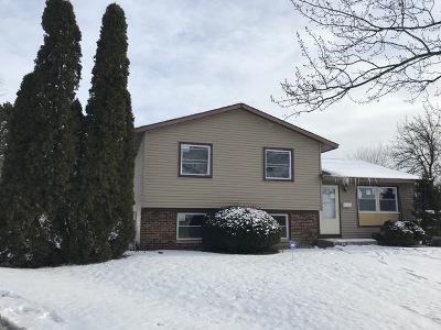 Hazel Crest  Single Family Home For Sale: 3708 Cottonwood Court