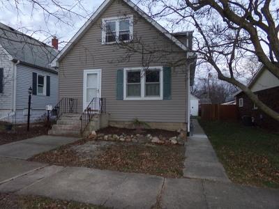 Steger Single Family Home Price Change: 3505 Peoria Street