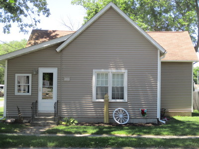 Single Family Home For Sale: 203 North Illinois Street