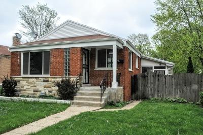 Dolton  Single Family Home For Sale: 14249 University Avenue