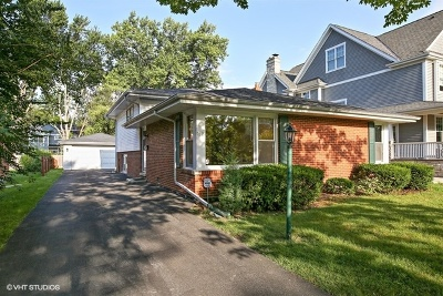 Western Springs Single Family Home For Sale: 5316 Woodland Avenue