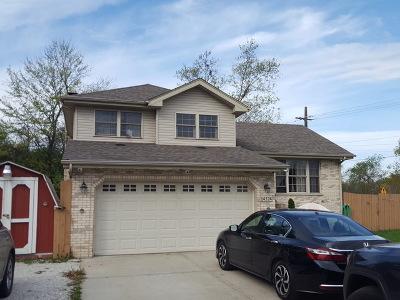 Midlothian Single Family Home For Sale: 14324 Springfield Avenue