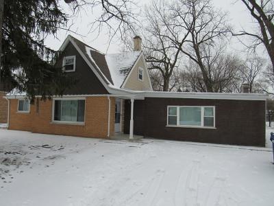 Bridgeview Single Family Home For Sale: 7215 South Oketo Avenue