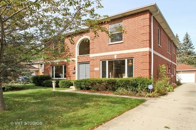 Wilmette Single Family Home For Sale: 2510 Wilmette Avenue