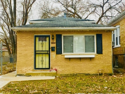 Chicago IL Single Family Home For Sale: $199,000