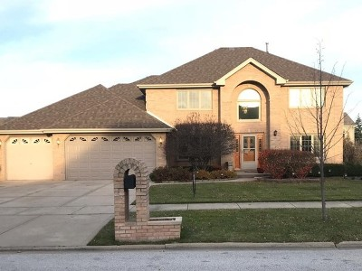 Tinley Park Single Family Home For Sale: 7707 Marquette Drive