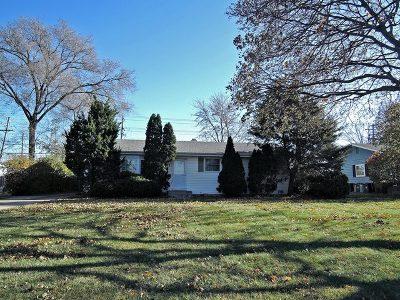 Carol Stream Single Family Home For Sale: 287 Blackhawk Drive