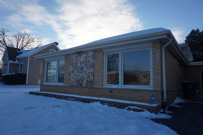 Alsip  Single Family Home For Sale: 11604 South Keeler Avenue