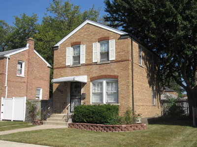 Chicago Single Family Home Re-Activated: 3348 West 84th Street