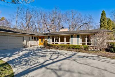 Lake Forest Single Family Home For Sale: 1555 North Western Avenue