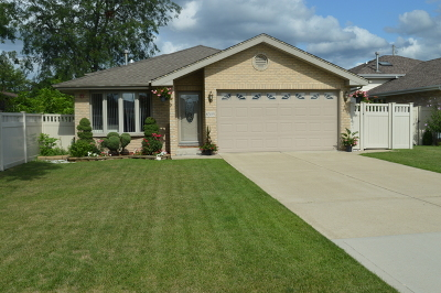 Justice  Single Family Home For Sale: 8309 South 79th Court