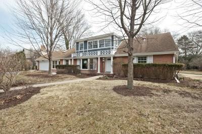 Wilmette Single Family Home For Sale: 1212 Grant Street