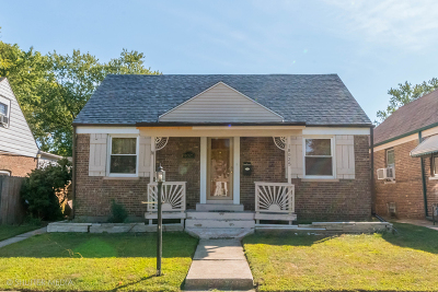 Lansing  Single Family Home For Sale: 18025 Commercial Avenue
