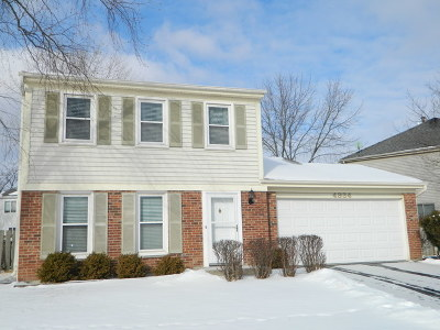 Hoffman Estates Single Family Home For Sale: 4934 Lichfield Drive