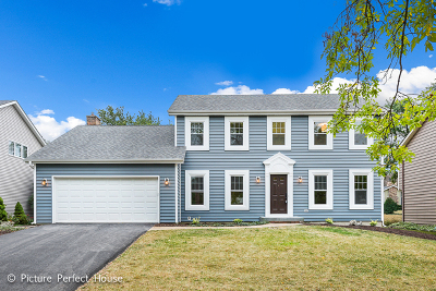 Naperville Single Family Home Contingent: 1348 Deep Run Road
