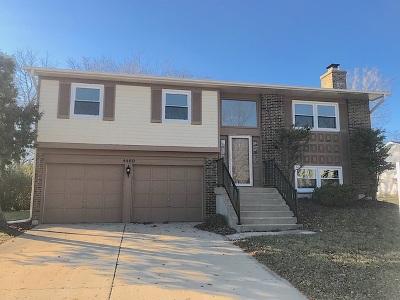 Hoffman Estates Single Family Home For Sale: 4460 Capstan Drive