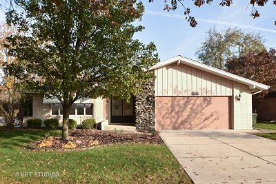 New Lenox Single Family Home For Sale: 1233 Timber Place