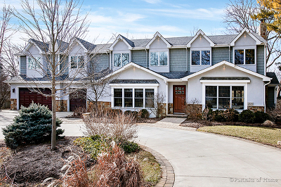 Wheaton Single Family Home For Sale: 1s680 Carrol Gate Road