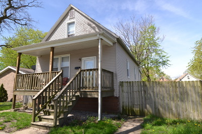 Calumet Park Single Family Home For Sale: 12356 South Green Street