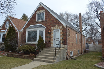 Single Family Home For Sale: 9539 South Hamlin Avenue