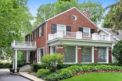 Winnetka Single Family Home For Sale: 1280 Scott Avenue