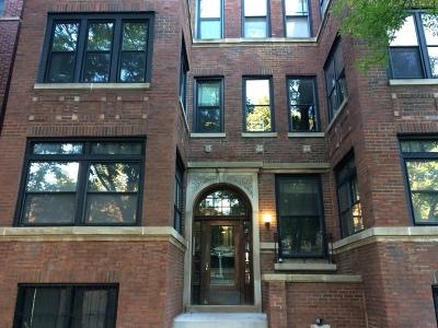 Condo/Townhouse New: 5228 South Ingleside Avenue #3S