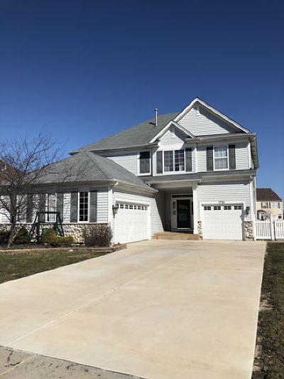 Plainfield Single Family Home New: 7701 Scarlett Oak Drive