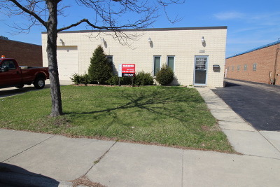 Streamwood Commercial For Sale: 1538 Brandy Parkway