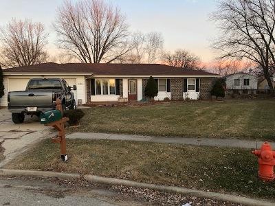 Elgin Single Family Home For Sale: 1161 Hecker Court