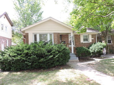 Chicago IL Single Family Home New: $75,900