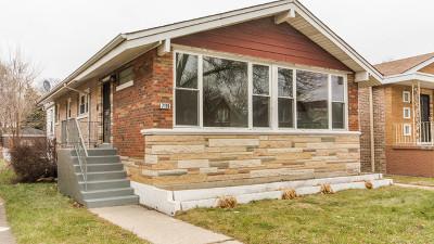 Single Family Home New: 7119 South Indiana Avenue