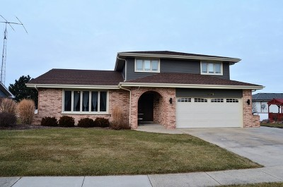 Orland Park, Tinley Park, Evergreen Park, Oak Lawn, Matteson, Olympia Fields, Flossmoor, Frankfort, Country Club Hills, Richton Park, Palos Heights, Palos Park, Palos Hills, Orland Hills, Homewood, Crestwood Single Family Home New: 8930 Poplar Street