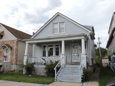 Single Family Home New: 10036 South Indiana Avenue