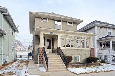 Chicago Single Family Home New: 5822 West Berenice Avenue