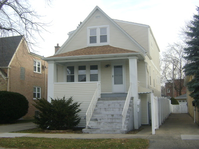 Chicago Single Family Home New: 4337 North Mobile Avenue
