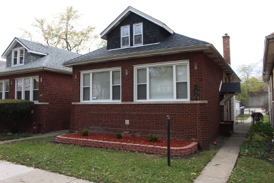 Chicago IL Single Family Home New: $213,000
