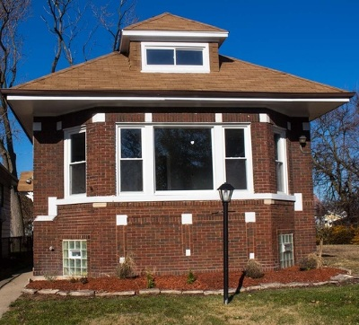 Chicago IL Single Family Home New: $153,900