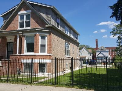 Chicago Multi Family Home New: 8513 South Sangamon Street