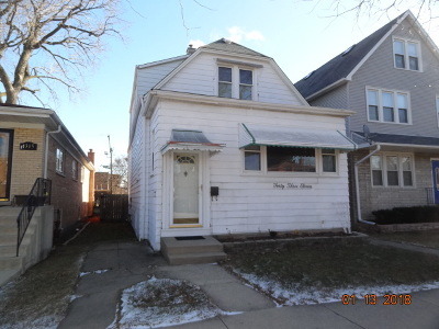Chicago Single Family Home New: 4311 North Mobile Avenue