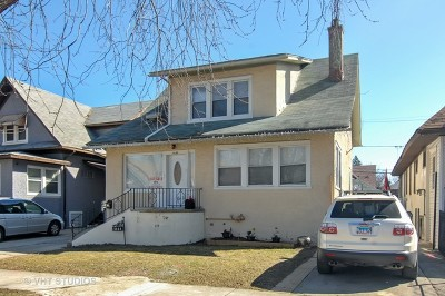 Chicago Single Family Home New: 1131 North Latrobe Avenue