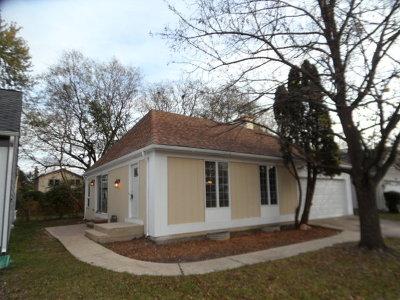 Lisle Single Family Home Price Change: 6607 Fernwood Drive