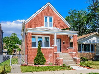 Single Family Home New: 7602 South Calumet Avenue