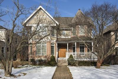 Wilmette Single Family Home New: 338 Greenleaf Avenue