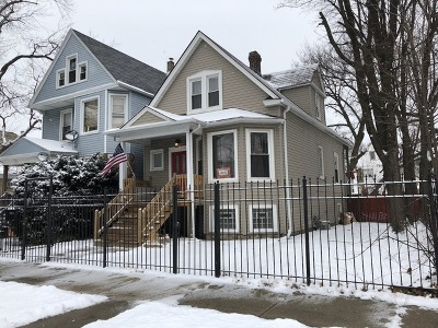 Chicago Single Family Home New: 945 North Waller Avenue